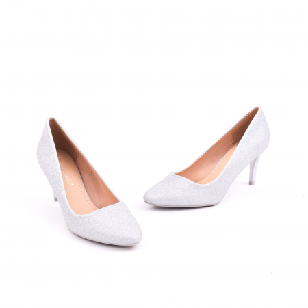 Pantof elegant 658 argintiu1