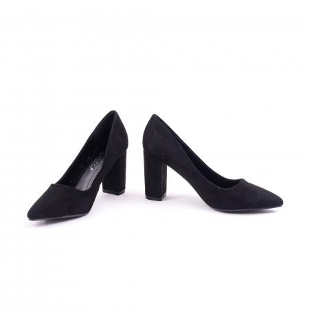 Pantof elegant  659 negru