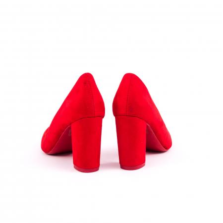 Pantof elegant 659 rosu6