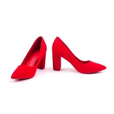 Pantof elegant 659 rosu4