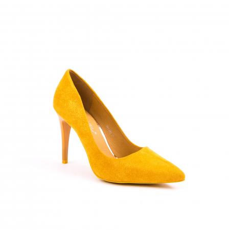 Pantof elegant 669 mustar0