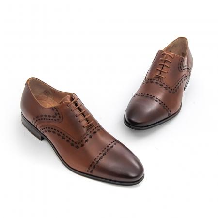 Pantof elegant barbat- LFX 748 MARO1