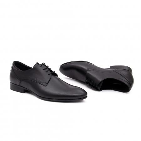 Pantof elegant barbat LFX 935 negru1