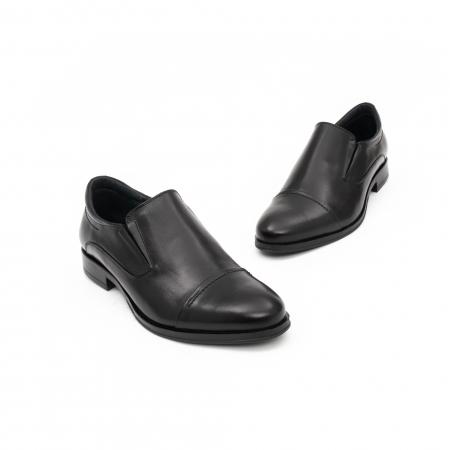 Pantof elegant barbat LFX 970 negru box1