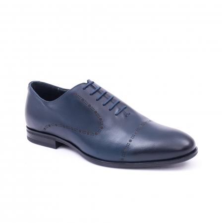 Pantof elegant barbati LFX 934 bleumarin