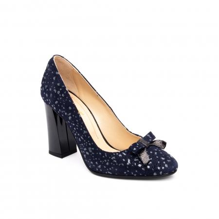 Pantof elegant dama -cod 1110 BGE  bleumarin glitter0