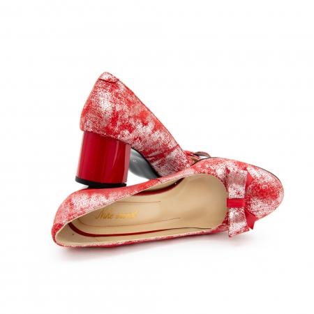 Pantof elegant dama -cod 1111 rosu