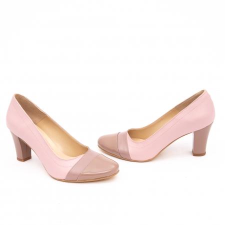 Pantof elegant dama -cod BBLB16 nude -crem2
