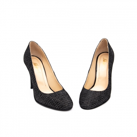 Pantof elegant stiletto -cod 1112 AN negru piper3