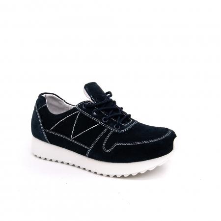 Pantof sport dama -cod F002-91 navy suede0