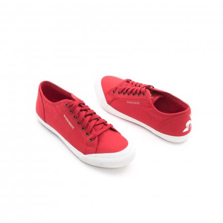 Pantofi sport unisex Le Coq Sportif 1820070 deauville sport, rosu2