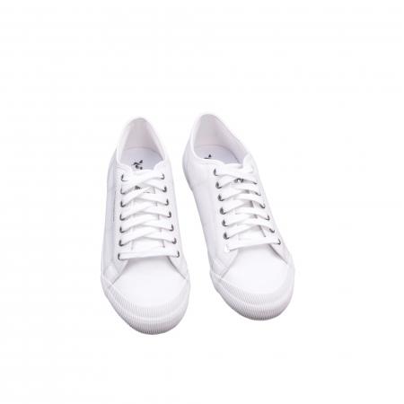 Pantofi sport vara  unisex Le Coq Sportif 1820069 deauville sport, alb1