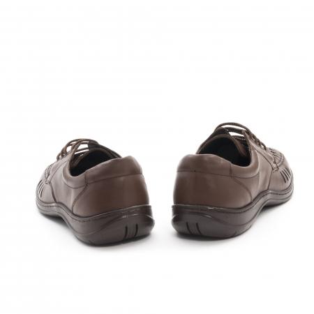 Pantofi barbati vara, piele naturala, Otter 149 C4-N, maro6
