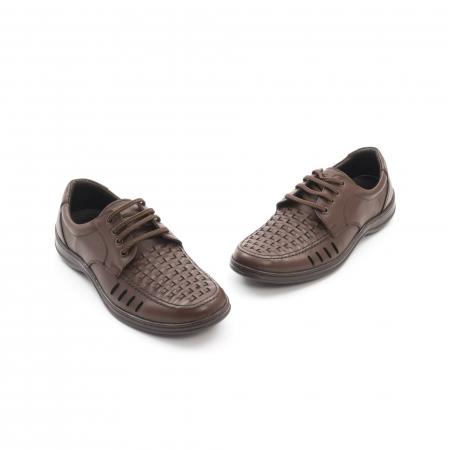 Pantofi barbati vara, piele naturala, Otter 149 C4-N, maro1