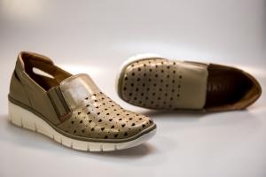 Pantof vara dama LFX 107 bej1