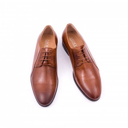 Pantofi barbat LFX 743 coniac4