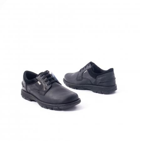 Pantofi barbati casual piele naturala Imac ic402428, negru2