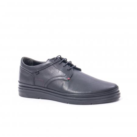 Pantofi casual barbat din piele naturala Otter 5318 negru0
