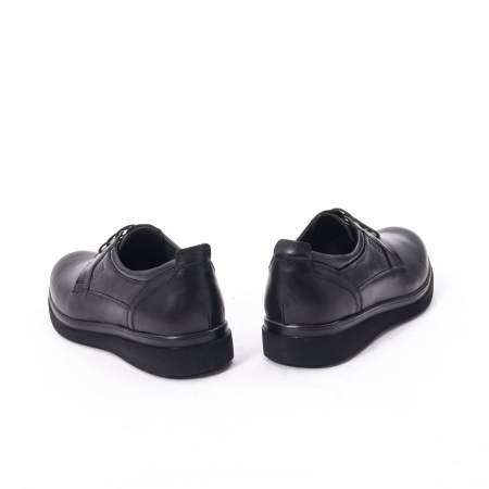 Pantofi casual barbat,piele naturala Catali 172568,negru6