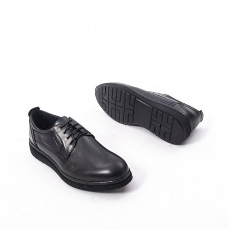Pantofi casual barbat,piele naturala Catali 172568,negru3