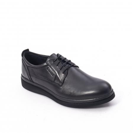 Pantofi casual barbat,piele naturala Catali 172568,negru0