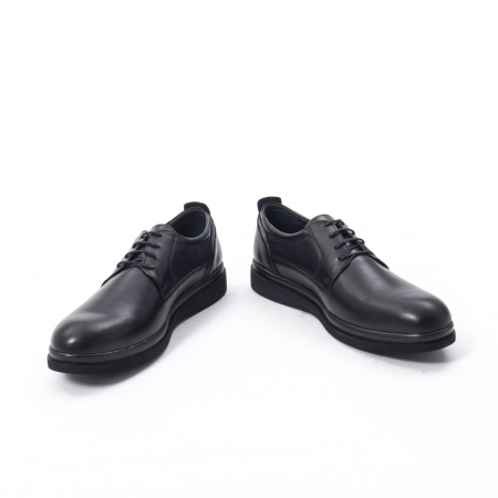 Pantofi casual barbat,piele naturala Catali 172568,negru4