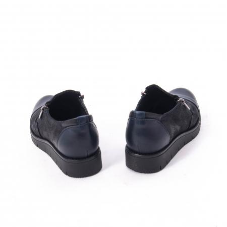 Pantofi casual dama din piele naturala, Catali 182634,bleumarin1