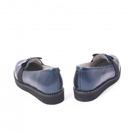 Pantofi casual dama ,piele naturala, Catali 172615 bleumarin6