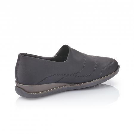 Pantofi casual dama, stretch Rieker 44260, negru3