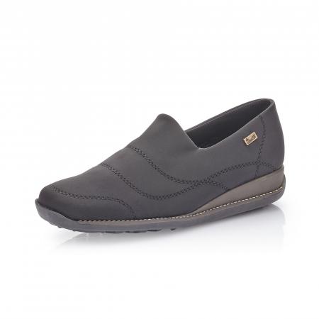 Pantofi casual dama, stretch Rieker 44260, negru0