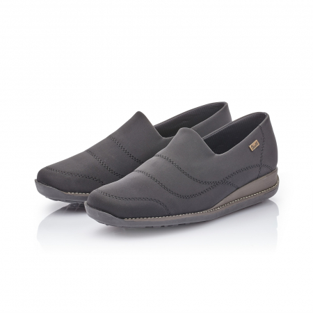 Pantofi casual dama, stretch Rieker 44260, negru4