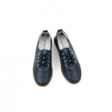 Pantofi casual de vara dama 102 navy5