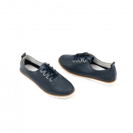Pantofi casual de vara dama 102 navy3