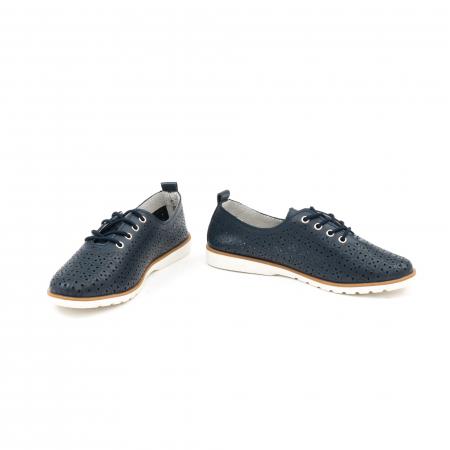 Pantofi casual de vara dama 102 navy4