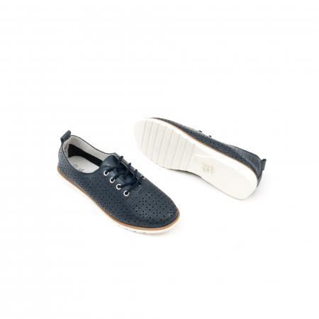 Pantofi casual de vara dama 102 navy2