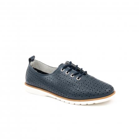 Pantofi casual de vara dama 102 navy0