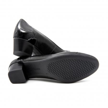 Pantofi dama eleganti piele naturala Ara 3585, Negru4