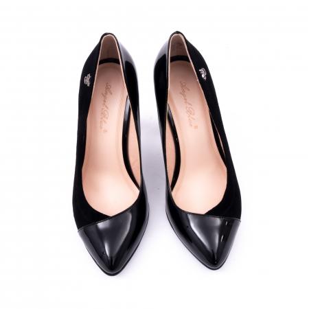 Pantofi eleganti dama 6042 negru5