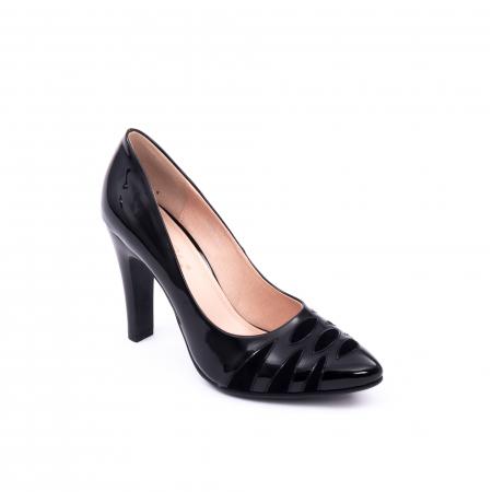 Pantofi eleganti dama 6045 negru0