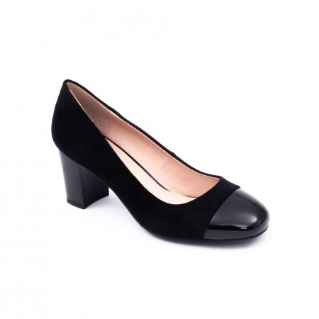 Pantofi eleganti dama 6046 negru0
