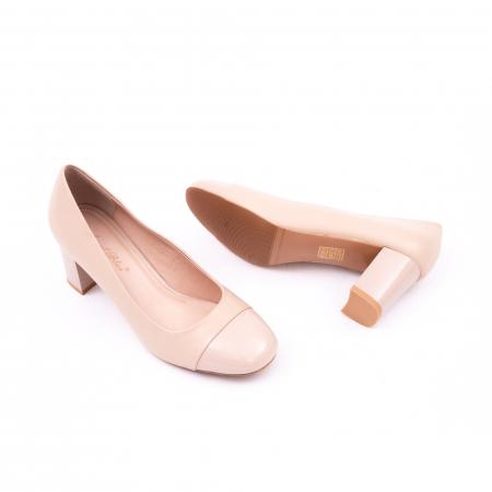 Pantofi eleganti dama 6046 nude4