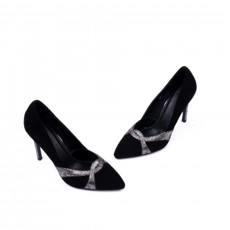 Pantofi eleganti dama 9511 negru.1