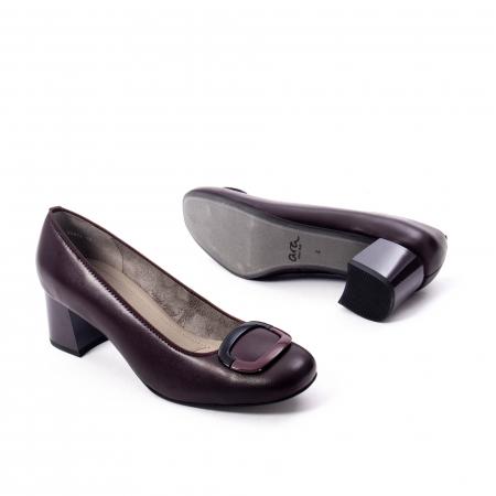 Pantofi eleganti dama ,piele naturala Ara 12-35534, bordo inchis