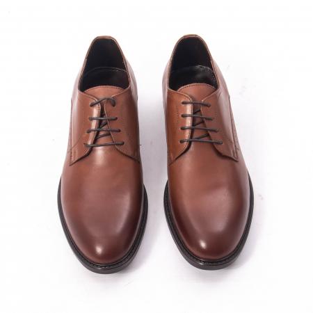 Pantofi eleganti barbati piele naturala, Catali 192545 coniac5