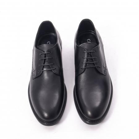 Pantofi eleganti barbati piele naturala, Catali 192545 negru
