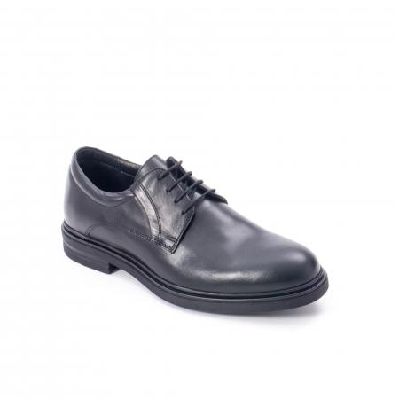 Pantofi eleganti de barbat din piele naturala,  998 negru0