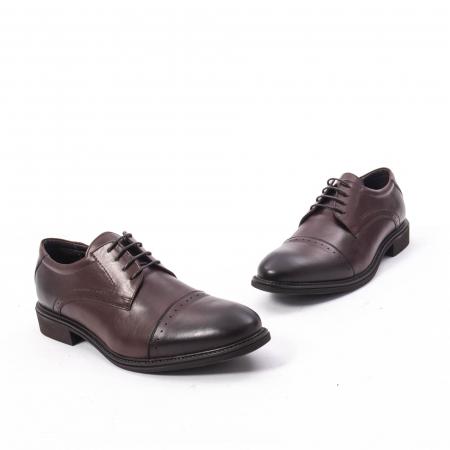 Pantofi eleganti de barbat,piele naturala Catali 172558 maro1