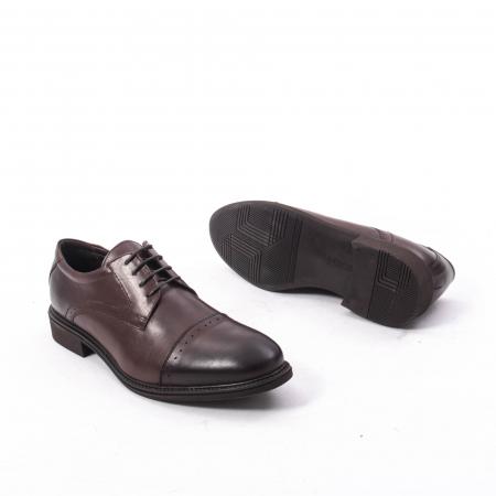 Pantofi eleganti de barbat,piele naturala Catali 172558 maro3