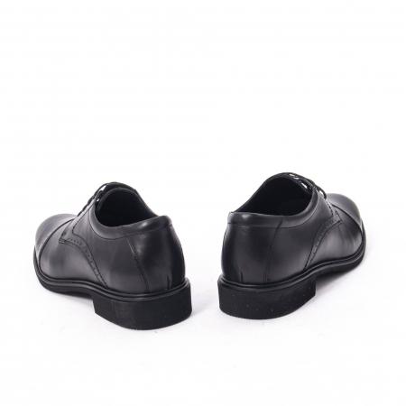 Pantofi eleganti de barbat,piele naturala Catali 172558 negru6