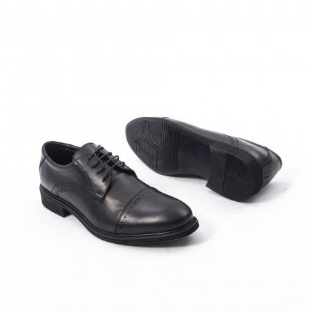 Pantofi eleganti de barbat,piele naturala Catali 172558 negru3